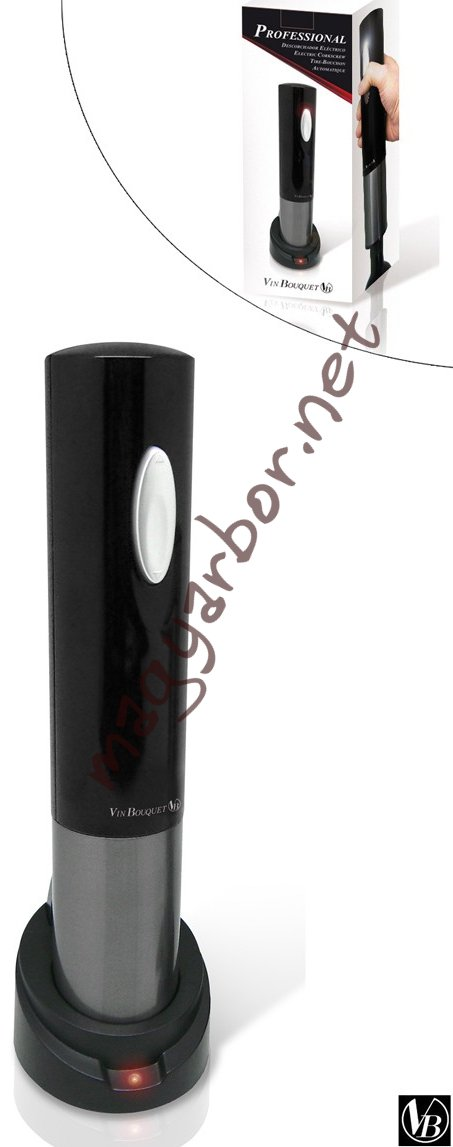 Elektromos dugóhúzó, akkumulátoros,Vin Bouquet