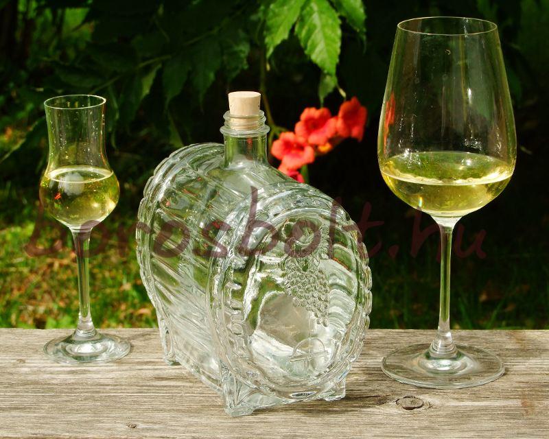 Pálinkás Boros Whiskys Üveghordó 1,5 L Ajándékok Ajandekotletek