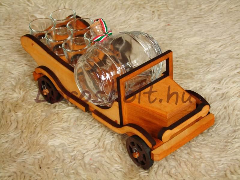 Pálinka pálinkás ajándék pálinkás készlet pálinkás autó
