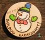 Karácsonyi Fa hütömágnesek, Kézmüves Ajándék Ötlet