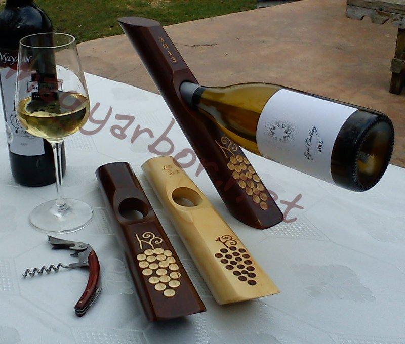 Egyensúly bortartó pácolt és natúr (gravírozva is)