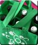 Bortartó Öko textil táska 6 palacknak