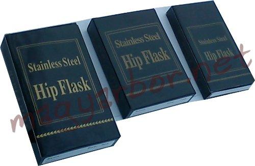 Pálinkás,whiskys flaska rozsdamentes acélból (több méretben)