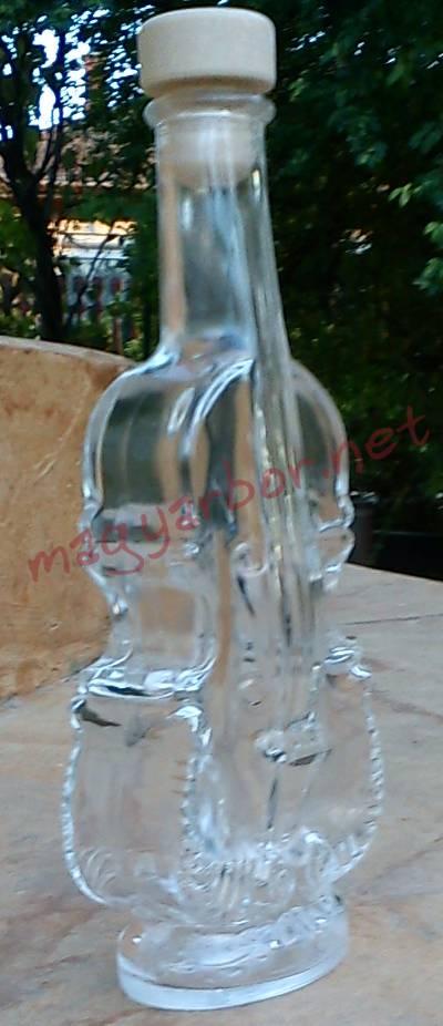 Hegedü díszüveg pálinkának,bornak... 0,2 L