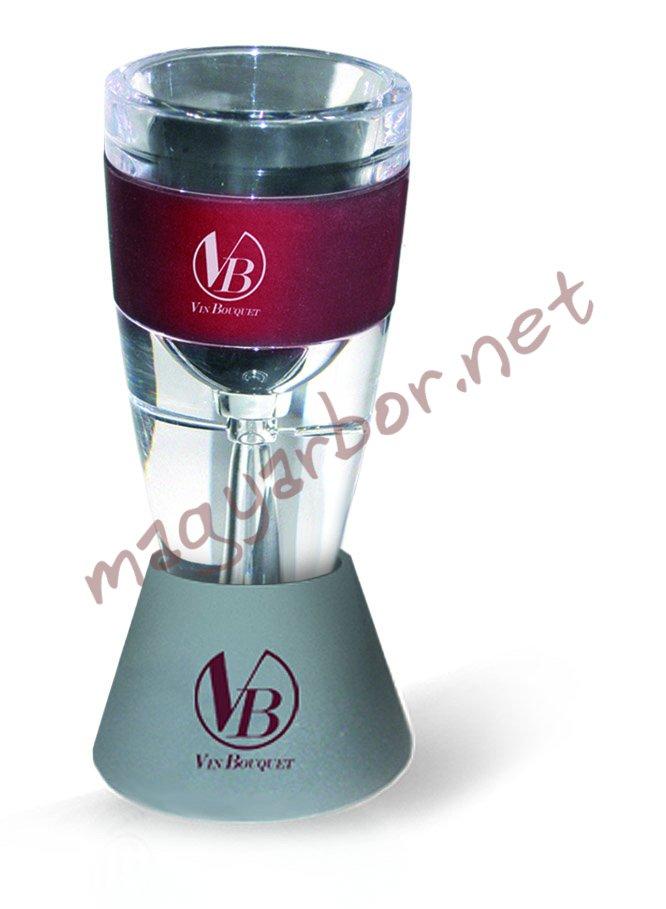 Vin Bouquet wine aerator, borSzellöztetö készlet